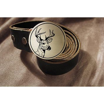 Deer Hunter Belt Buckle