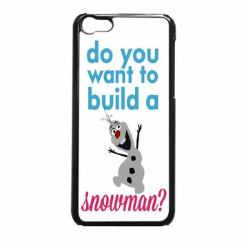 Do You Want To Build A Snowman iPhone 5c Case