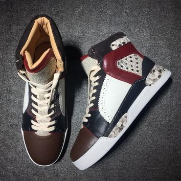 Christian Louboutin CL Style #2108 Sneakers Fashion Shoes Best Deal Online