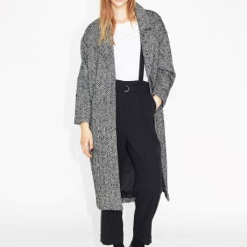 Monki | New outerwear | Carla tweed coat