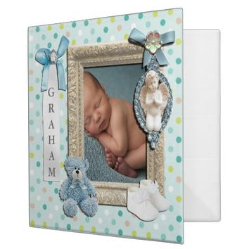 Baby Boy SCRAPBOOK BINDER