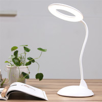 IMINOVO Desk Table Lamp High Capacity LED Book Light Reading Eye-Care Lamparas De Mesa Rechargeable Study Reading Night Light 3W