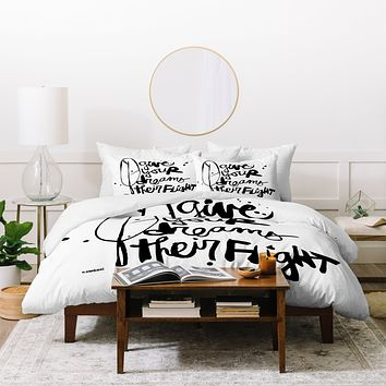 Kal Barteski Give Your Dreams Duvet Cover