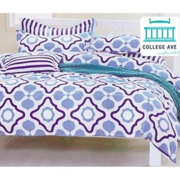 Poseidon Designer Girls Dorm Bedding Twin Extra Long Comforter Set