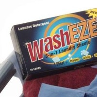 WashEZE 3-in-1 Laundry Sheets, Scented - 10-Count