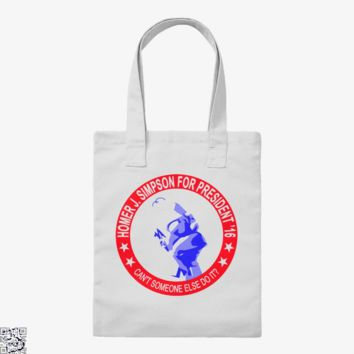 Homer Simpson Campaign, The Simpsons Tote Bag