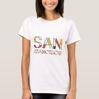 San Francisco artistic, neoplasticism style T-Shirt