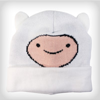 Adventure Time Finn Big Face with Ears Cuff Beanie