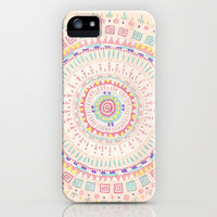 Mandala iPhone & iPod Case by Yes Menu
