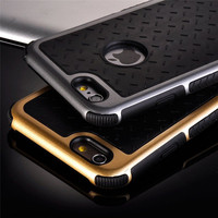 New Shockproof Rubber Hybrid Fashion Hard Case Thin Cover For Apple iPhone 5S Free Shipping EC882