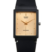 mq381ag - MQ-38 Casio Resin & Gold Analog Watch