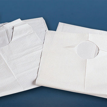 DISPOSABLE ADULT BIBS- 6 PACK