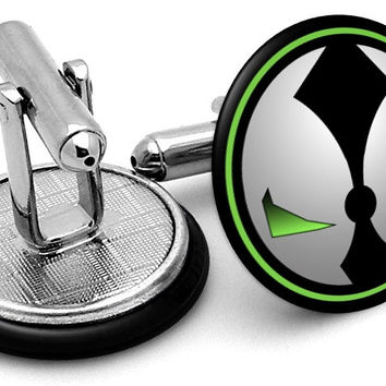 Spawn Logo Cufflinks