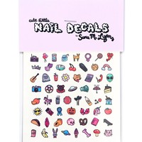 Sweet + Creepy Nail Decals
