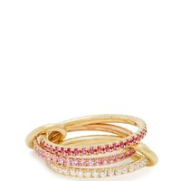 Aurora diamond, sapphire, ruby & gold ring | Spinelli Kilcollin | MATCHESFASHION.COM UK