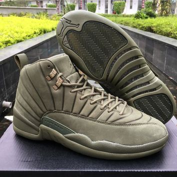 Air Jordan Retro 12 Discount PSNY x Green AJ12 Cheap Sale JD 12 Men Sports Basketball