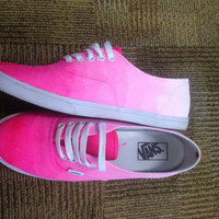 Custom ombre vans any color