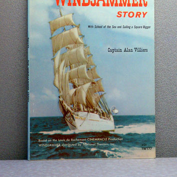The Windjammer Story - 1966 Scholastic Vintage Children's Book