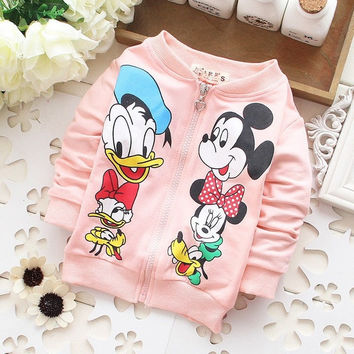 Mickey Minnie Donald Daisy Goofy Pluto Sweater