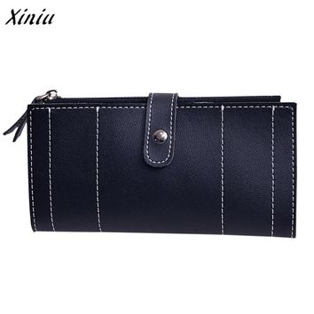 Women wallet Daily Use Fashion Leather Wallets Credit Card Holder High Quality Clutch Purse carteira feminina portefeuille femme