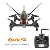 Walkera Rodeo 150 F150 F3 5.8G FPV 600TVL Camera DEVO-7 3D Roll 40CH MicroDrone RTF--Black ( Mode 2 )