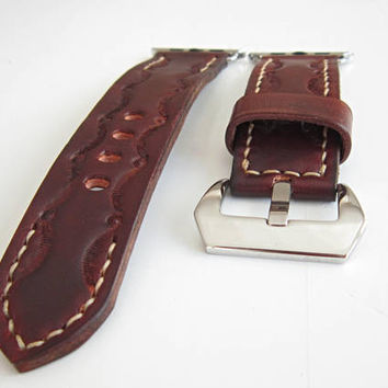 Brown Apple watch strap 42mm