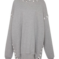 Whip Stitch Over-Sized Hoodie | Moda Operandi