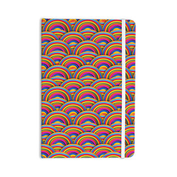 "Danny Ivan ""Rainbows"" Multicolor Everything Notebook"