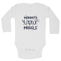Mommy's Little Muggle Funny Kids Onesuit