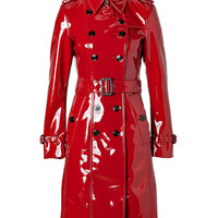 Burberry London - Queenscourt Trench Coat in Lacquer Red