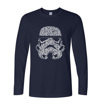 2017 new star war brand autumn fashion  long sleeve funny men casual top streetwear drake harajuku t shirts hip hop shirt cotton