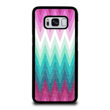 OMBRE PASTEL CHEVRON Samsung Galaxy S8 Case Cover