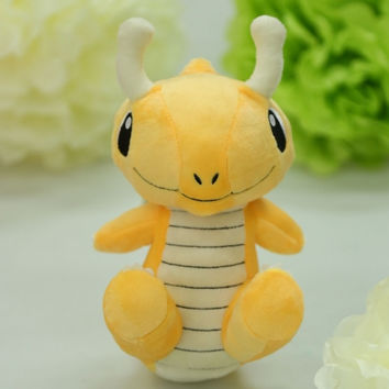 Pokemon GO New 9.8inch Cute Soft Plush Toys Doll Stuffed Cartoon Animal Children Kids Baby Gift Toys Yellow