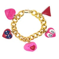 Love on the Brain Charm Bracelet