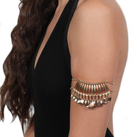 Gold Azz Arm Cuff