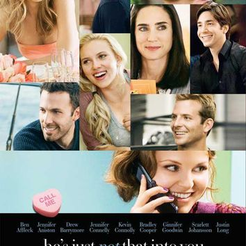He's Just Not That Into You 11x17 Movie Poster (2009)