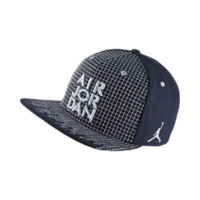 Jordan AJIV Sneaker Adjustable Hat, by Nike (Blue)