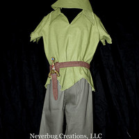 Classic  Peter Pan Custom Costume