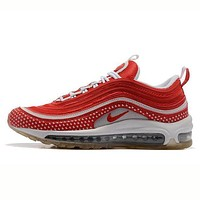 Tagre™ NIKE AIR MAX 97 Fashion Women Men Casual Running Sport Shoes Sneakers Red I