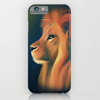 Lion iPhone & iPod Case by ShannonPosedenti