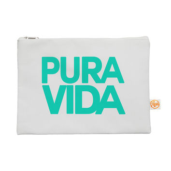 "Geordanna Cordero-Fields ""Turquoise Pura Vida"" Blue White Everything Bag"