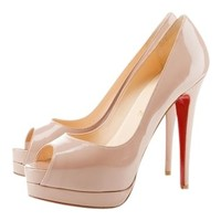Christian Louboutin Altadama 140 Mm Nude Pumps 80% off retail