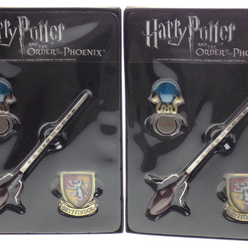 Harry Potter And The Order Of The Phoenix Stationery Set Letter Opener Bookmark