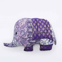 Elephant Cushion in Purple - Urban Outfitters