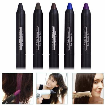 JOYOUS Fast Dying Hair Pen Disposable Temporary Hair Dye Hair Color Chalk Crayons Paint Hair Care Paint Contour Pen