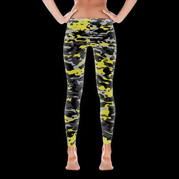 Camo Style Full Pant Women's Leggings