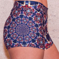 Moonlight Mandala Shorts