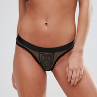 Kitty Coquete By Mimi Holliday Owl Brief at asos.com