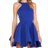 AQ/AQ Tiara Mini Dress in Blue