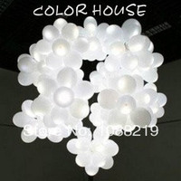 "Free Shipping 50 Pcs/Lot/ Led Balloon Light 12""/Led Balloon White Ballons Decoration Birthday Wedding Decorations"